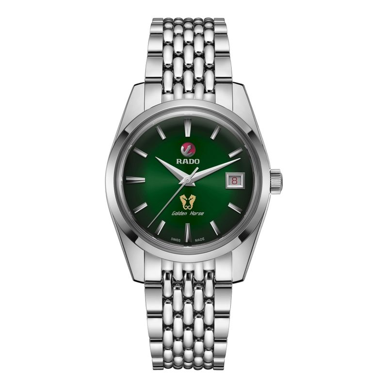 Golden Horse Automatic Green Dial