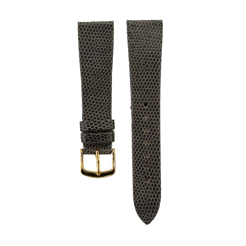 Grey Genuine Java Lizard Strap