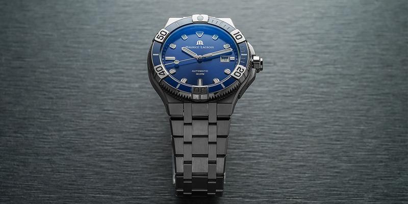 Maurice Lacroix Aikon Venturer Blue Bracelet