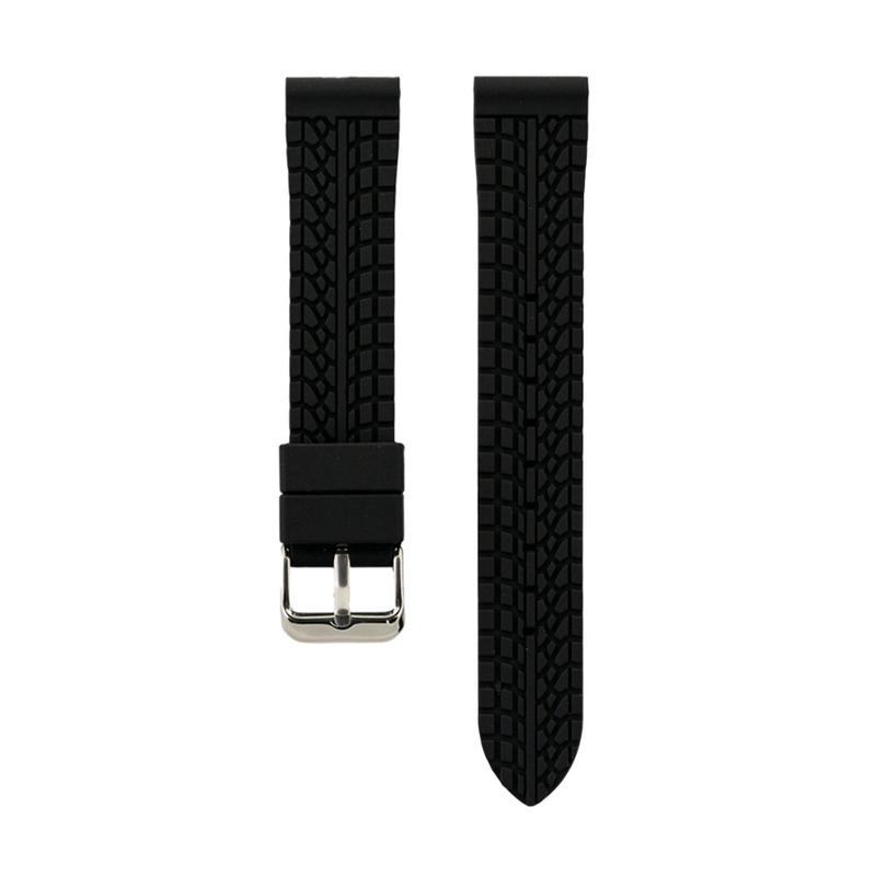 Dual Compression Silicone - Black Strap - Colored Lining