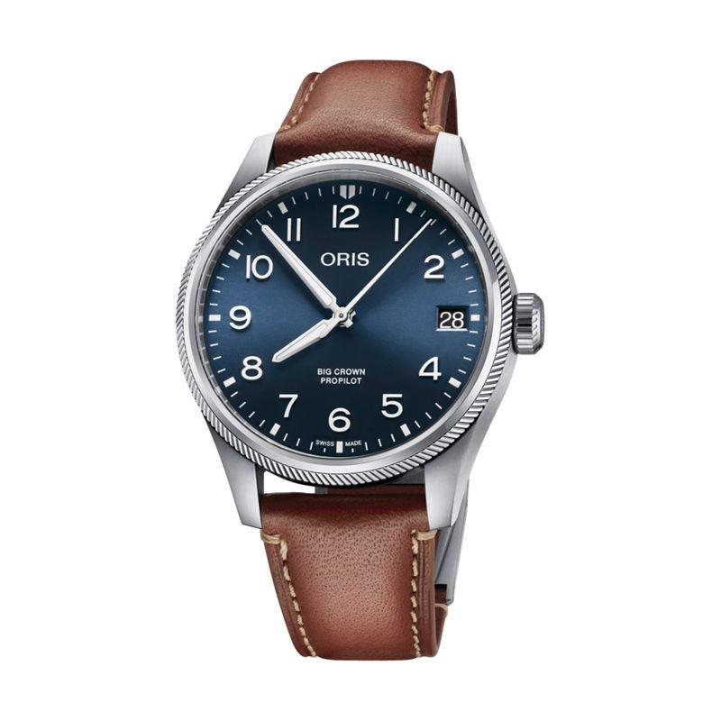 Big Crown Pro Pilot Date Grey Leather