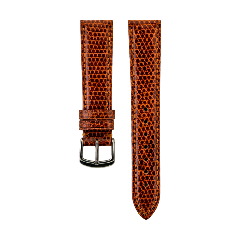 Tan Genuine Java Lizard Ladies Strap