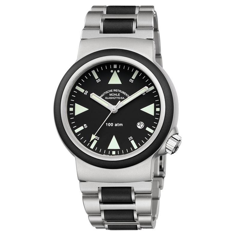 S.A.R. Rescue Timer Stainless Steel Bracelet