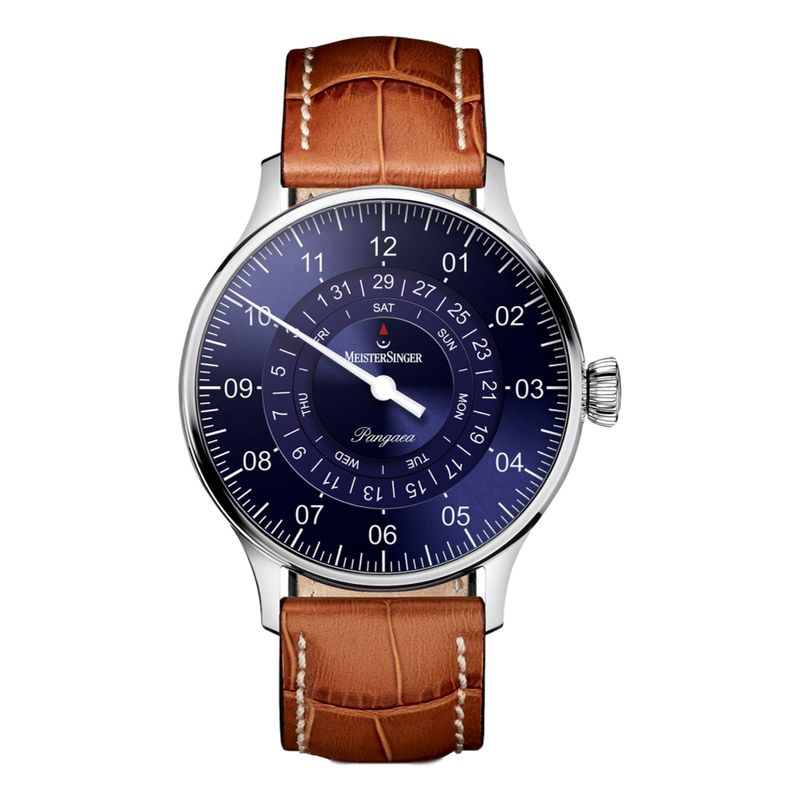 Pangaea Day Date Blue Dial