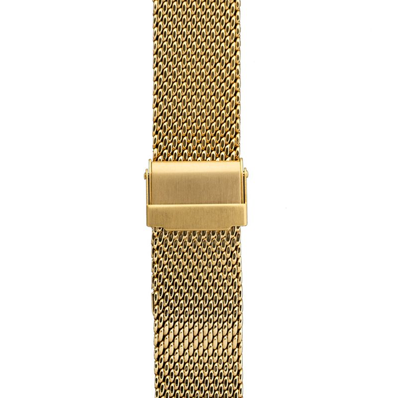 Yellow Gold Mesh Band