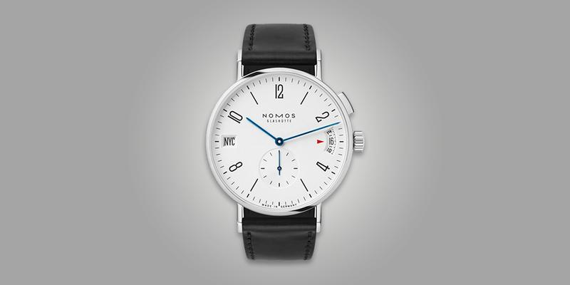 Nomons Tangomat GMT single pusher white dial