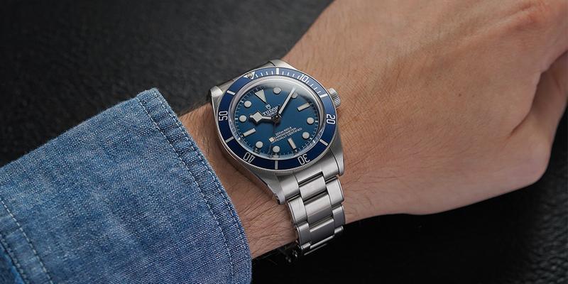 Tudor Black Bay Blue 58