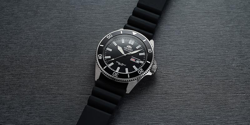 Orient Kano 200m Diver watch rubber strap