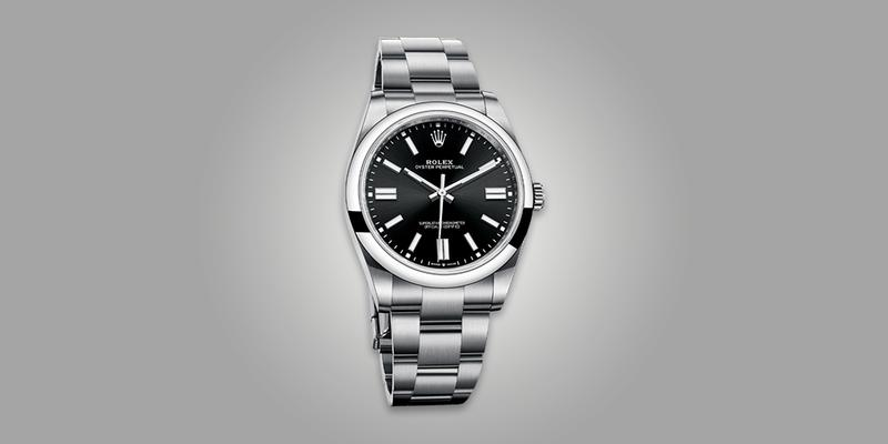 2020 Release Rolex Oyster Perpetual black dial on bracelet