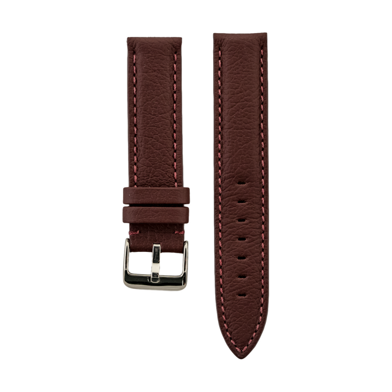 Burgundy Rolls Royce Leather Strap