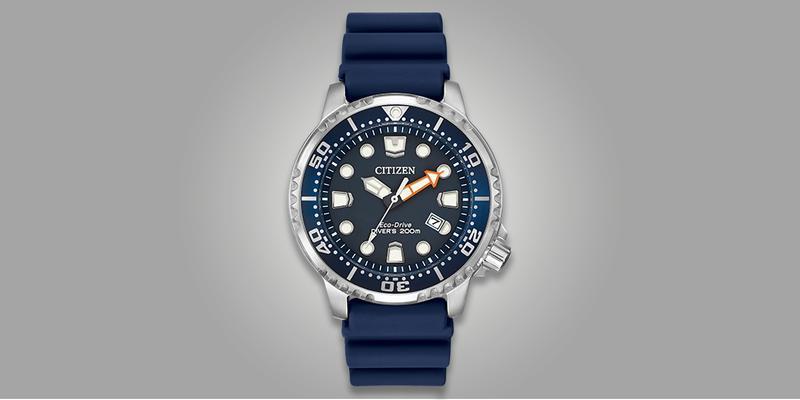 Citizen Promaster Diver 200m Blue Dial Rubber Strap