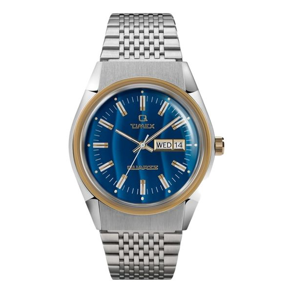 Q Timex Falcon Eye Reissue 38mm Stainless Steel Bracelet