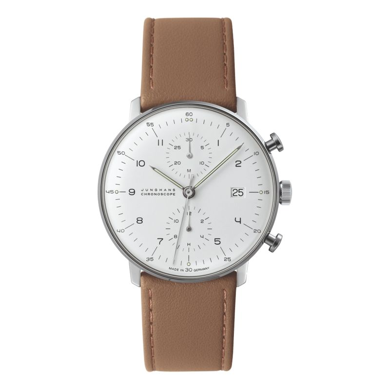 Max Bill Chronoscope - Brown Strap