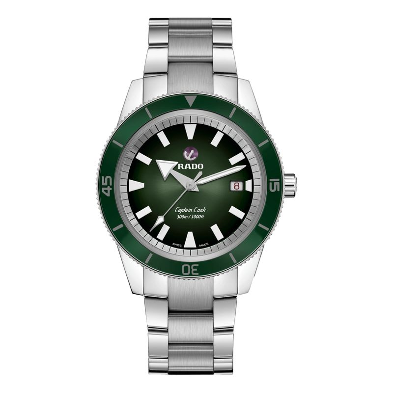 Captain Cook Automatic Green Dial