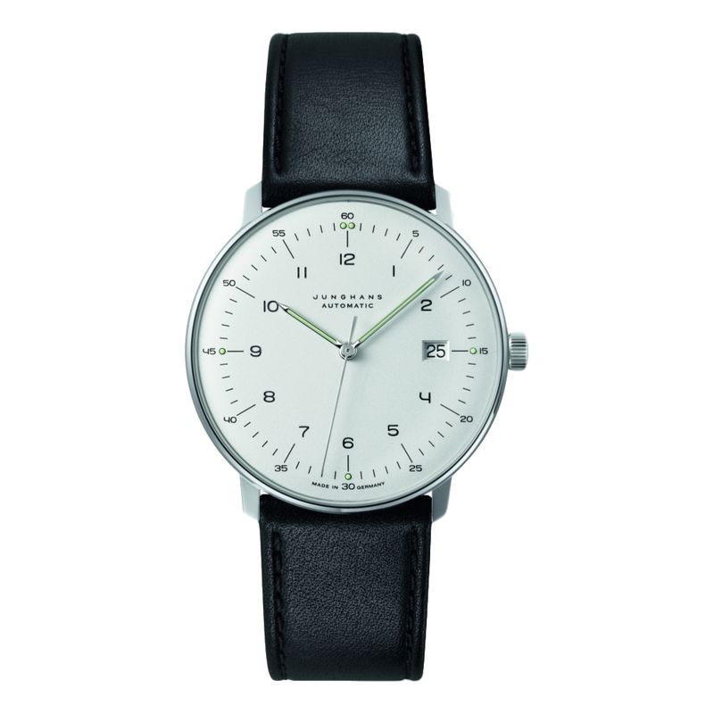 Max Bill Automatic - Black Strap