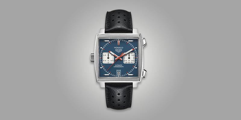 Tag Heuer Monaco Steeve Mcqueen Racing Watch Chronograph