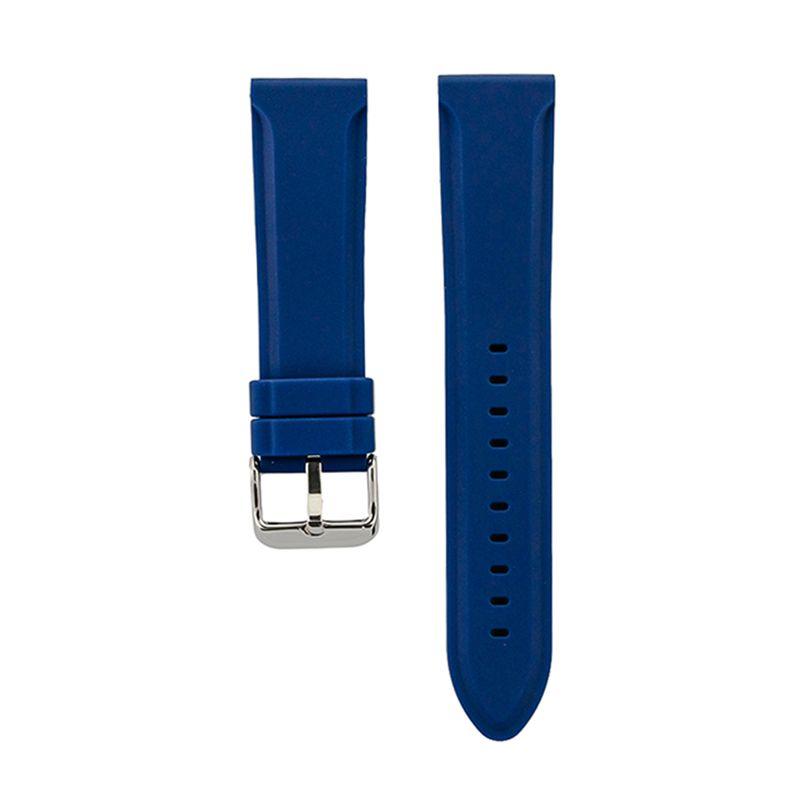 Blue Genuine Silicone Classic Strap