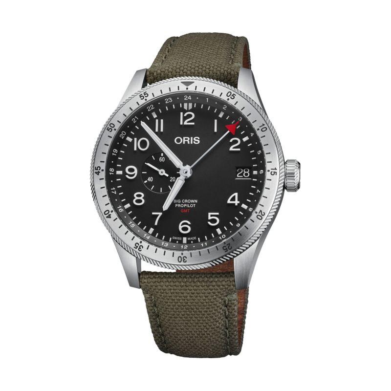 Big Crown Pro Pilot Timer GMT Textile