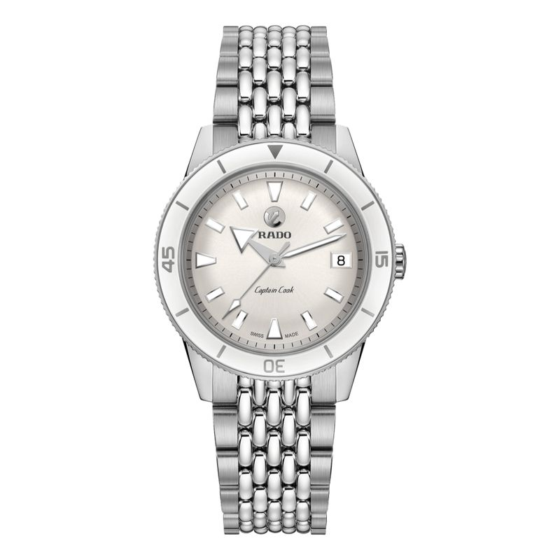 Captain Cook Automatic White Dial