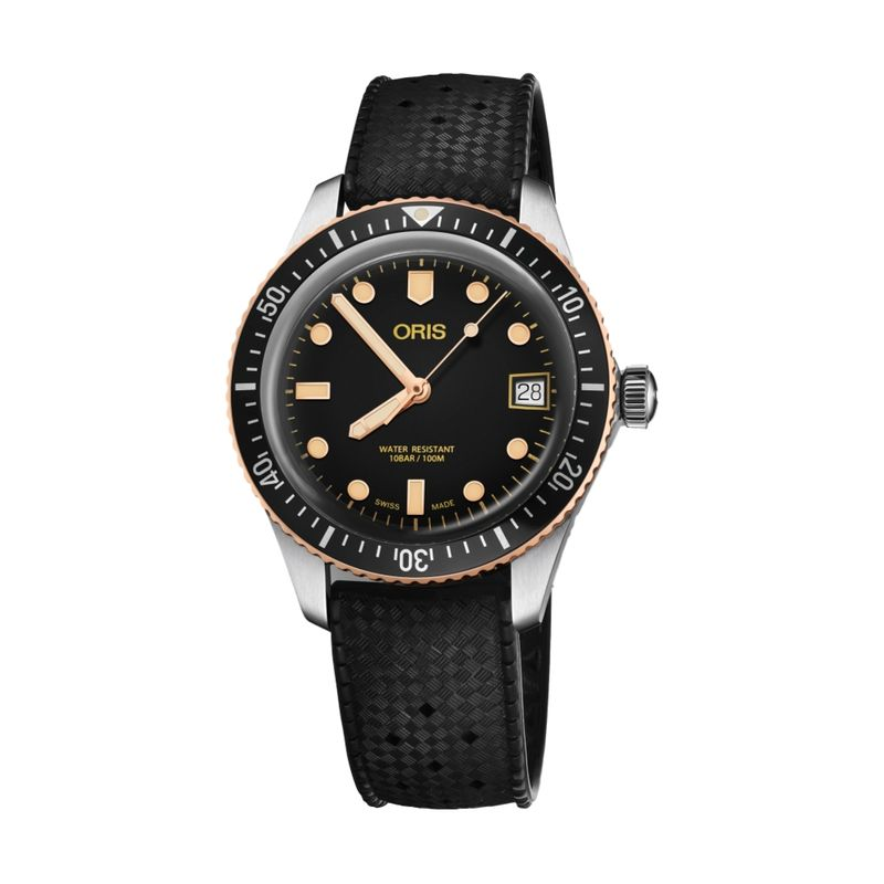 Divers Sixty-Five Steel/Bronze 36M Rubber