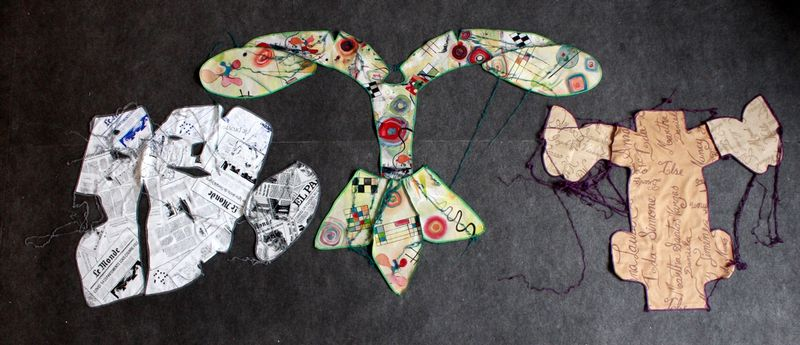 Ana Navas, Work in process (patterns), 2021, photo: Berke Gold