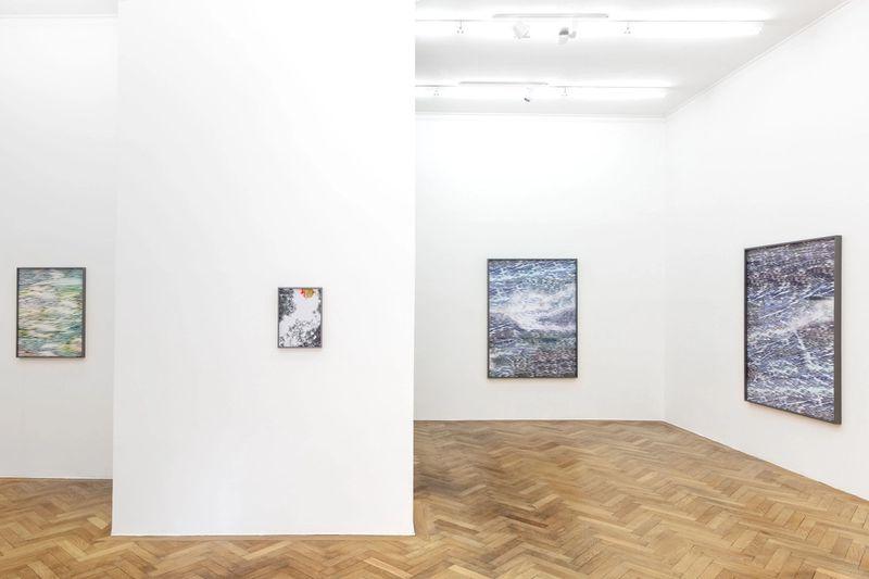 "Exhibition view: Anna Vogel, ""Departure tomorrow"", 2021, photo: Sebastian Kissel"