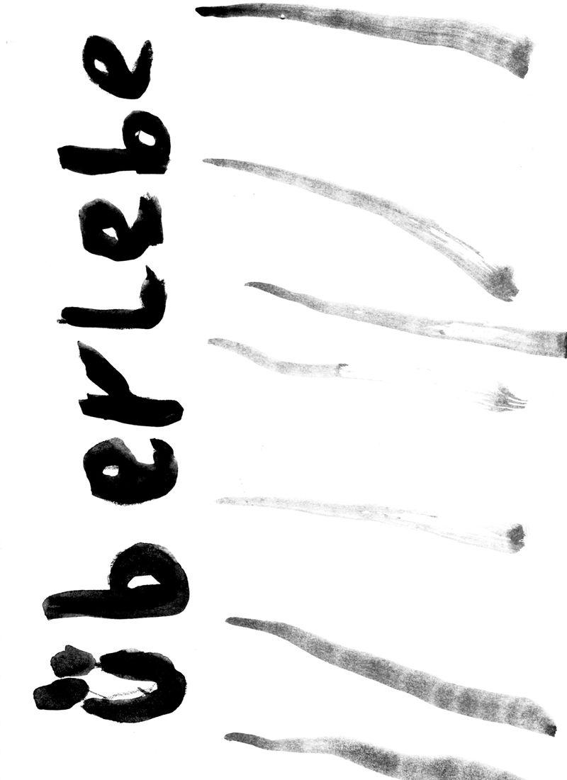das heißt gar nix!, 2021, ink on paper, 21 × 14,8 cm