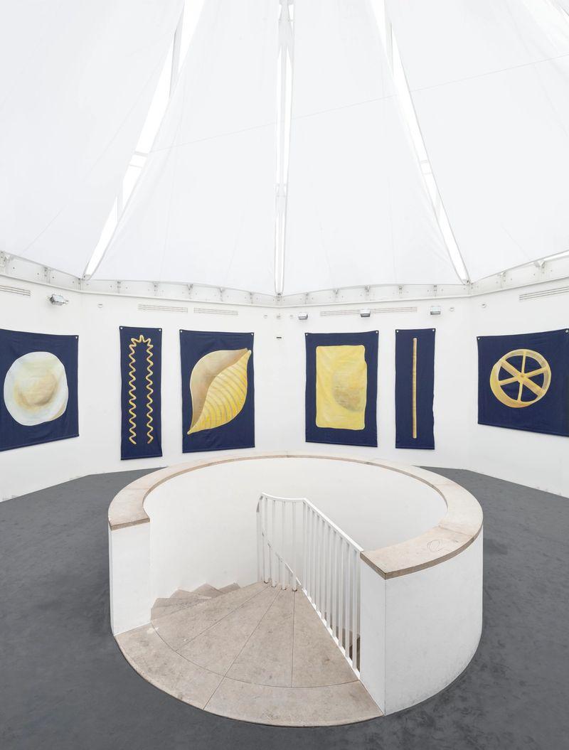Ana Navas, I had to think of you (Nudeln), installation view,Stadtgalerie Sindelfingen, 2017, photo: HenningKrause