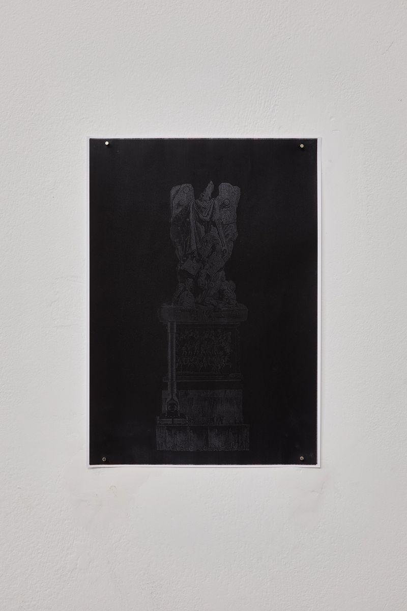 Alex Turgeon, Untitled, 2017, Xerox print on paper, 29,7 × 21,0 cm, courtesy the artist and Ashley Berlin, photo: Jan Kolsky