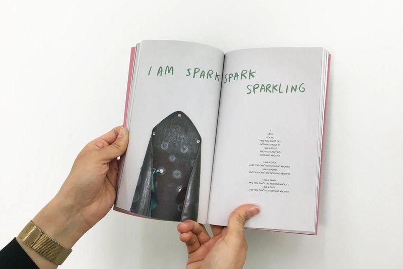 Tiene palabras, ella, 2020,Ana Navas and Sarina Scheidegger, Libros Proyecto, ESPAC México ,