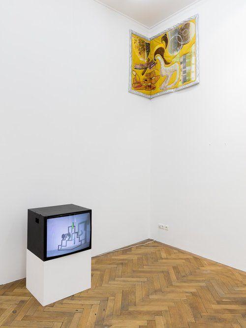 Two to Tango(with Kasia Fudakowski), Installation view, Sperling, 2019, photo: Sebastian Kissel,
