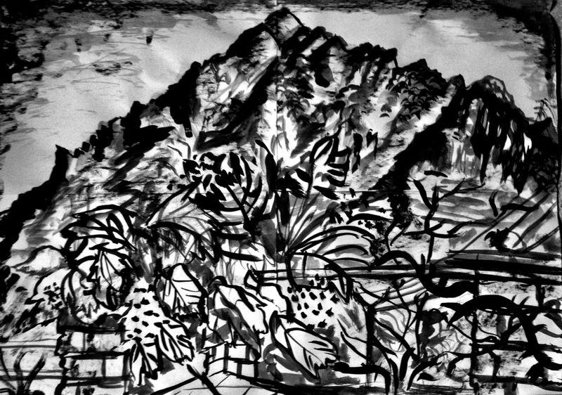 Anna McCarthy, Montserrat (Esther), 2019, risograph, 30 × 40 cm, edition: 10