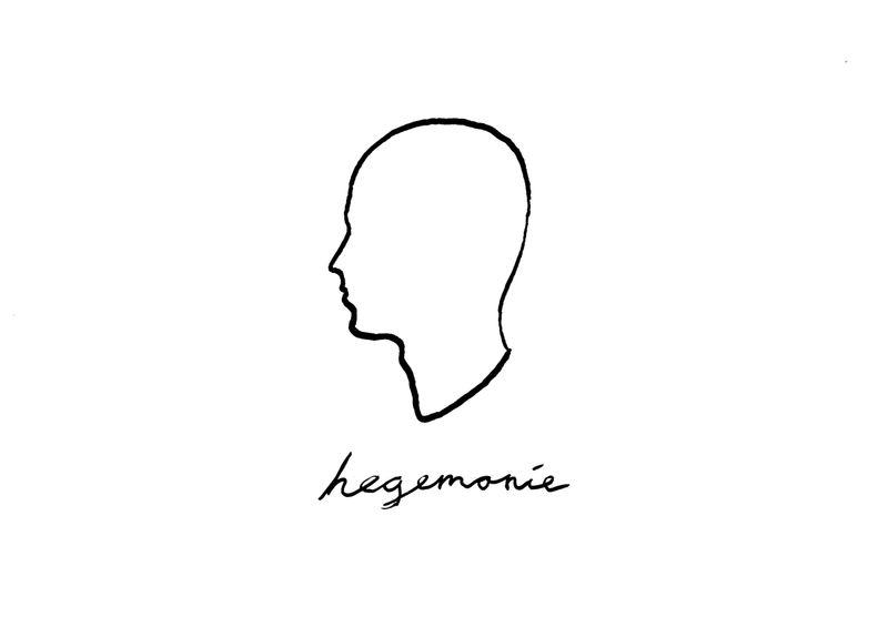 hegemonie, 2021, ink on paper, 21 × 29,7 cm