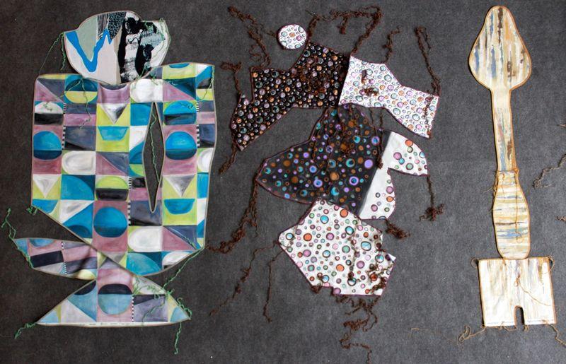 Ana Navas, Work in process (patterns), 2021, photo: Berke Gold ,