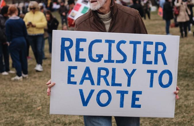 Register Early to Vote