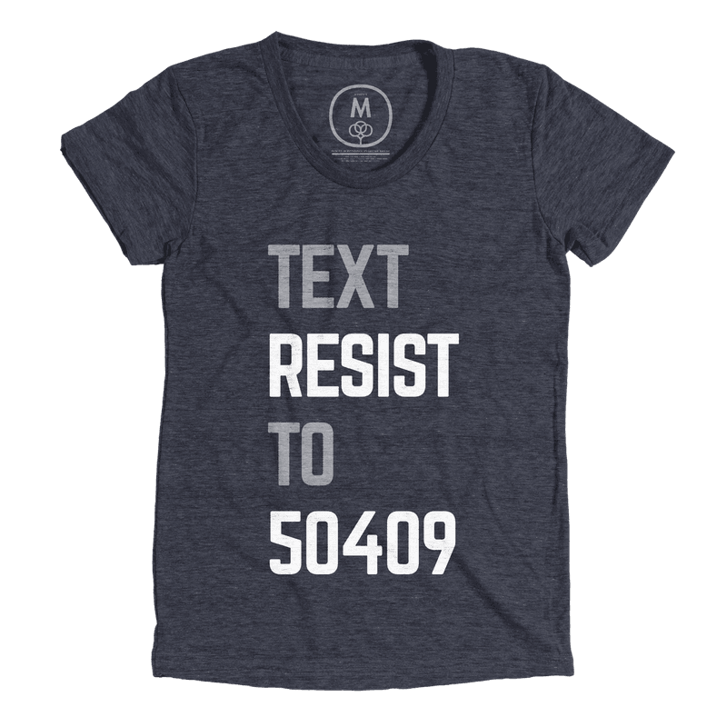 Text Resist to 50409 Tee Shirt