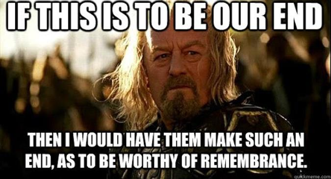 Gondor calls for aid!