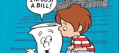 School House Rock Bill and little boy