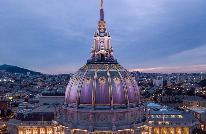 City Hall Rotunda, San Francisco, Calif.