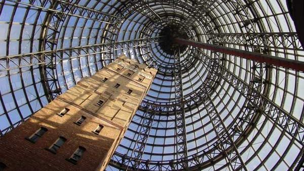 Image of Melbourne Central shot tower.