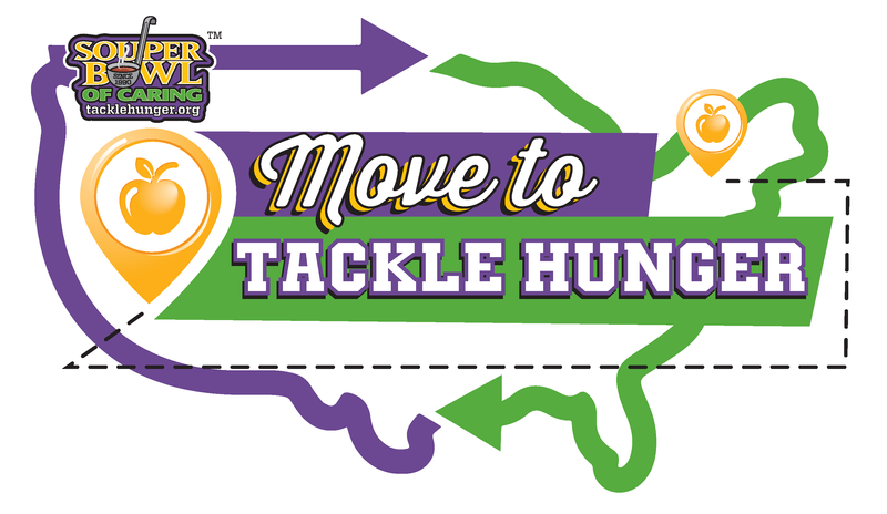 move to tackle hunger graphic