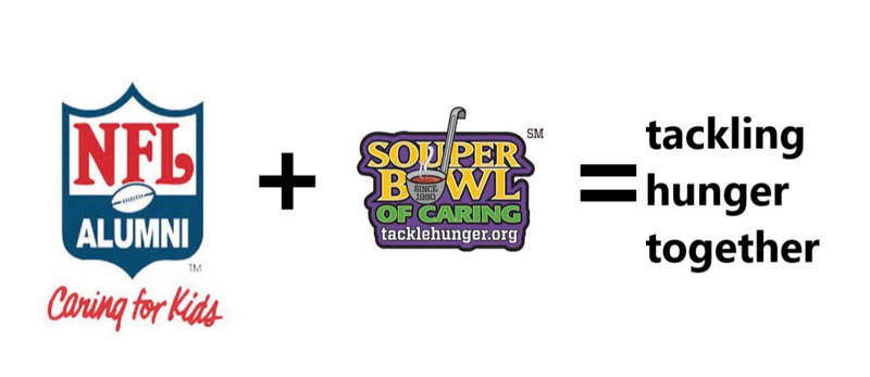 tackle hunger together graphic