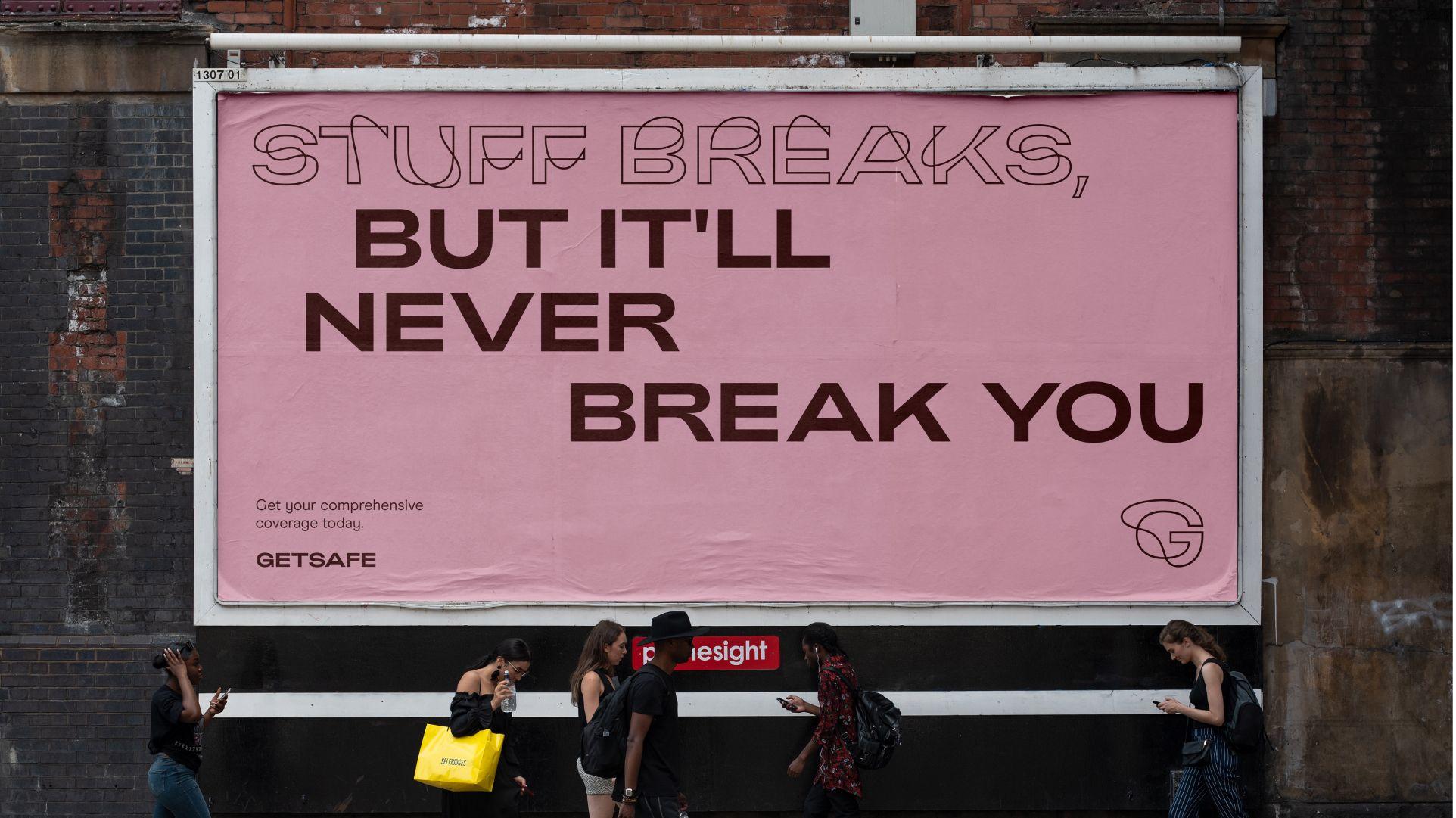 Stuff breaks, but it'll never break you
