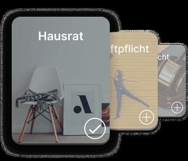 Getsafe's app preview - Verwalte deinen Schutz