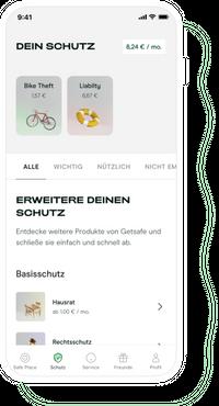 App Coverage Screen