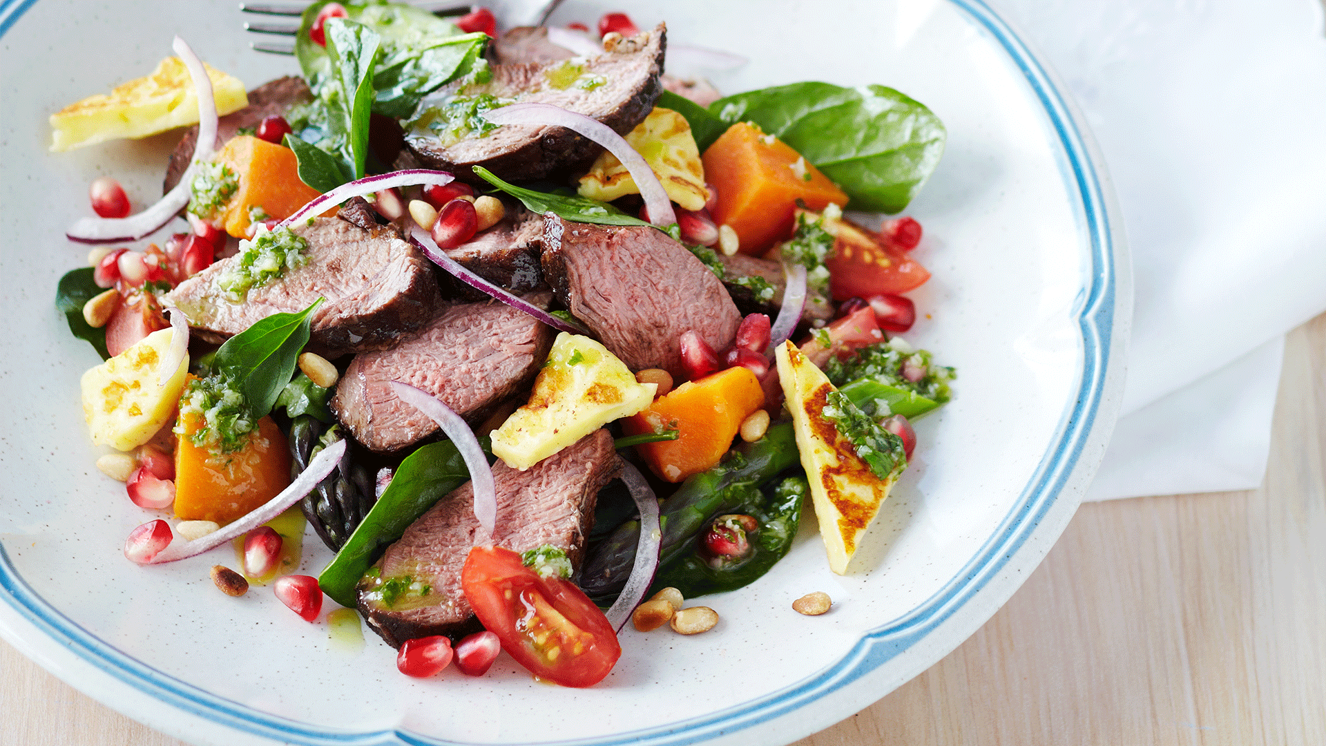 Balsamic Glazed Lamb Salad Recipe Beef Lamb New Zealand