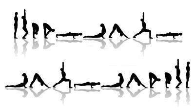vinyasa yoga school  surya namaskar b sun salutation b