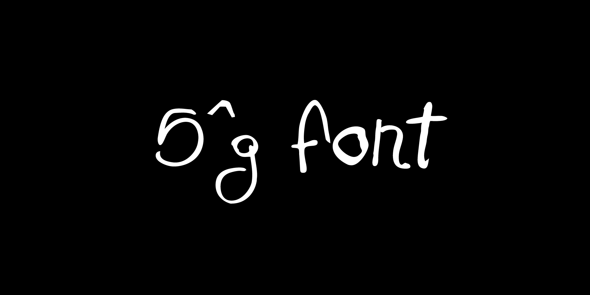 5^G font nameplate
