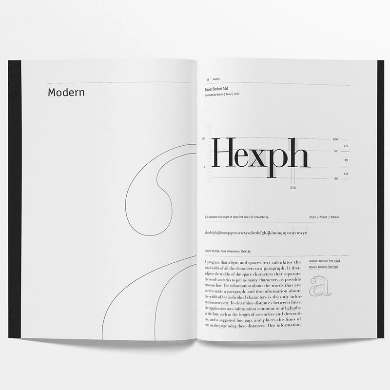 Font Metric Guide · Bauer Bodoni