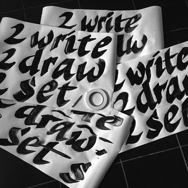 2write, 2draw, 2set sketches